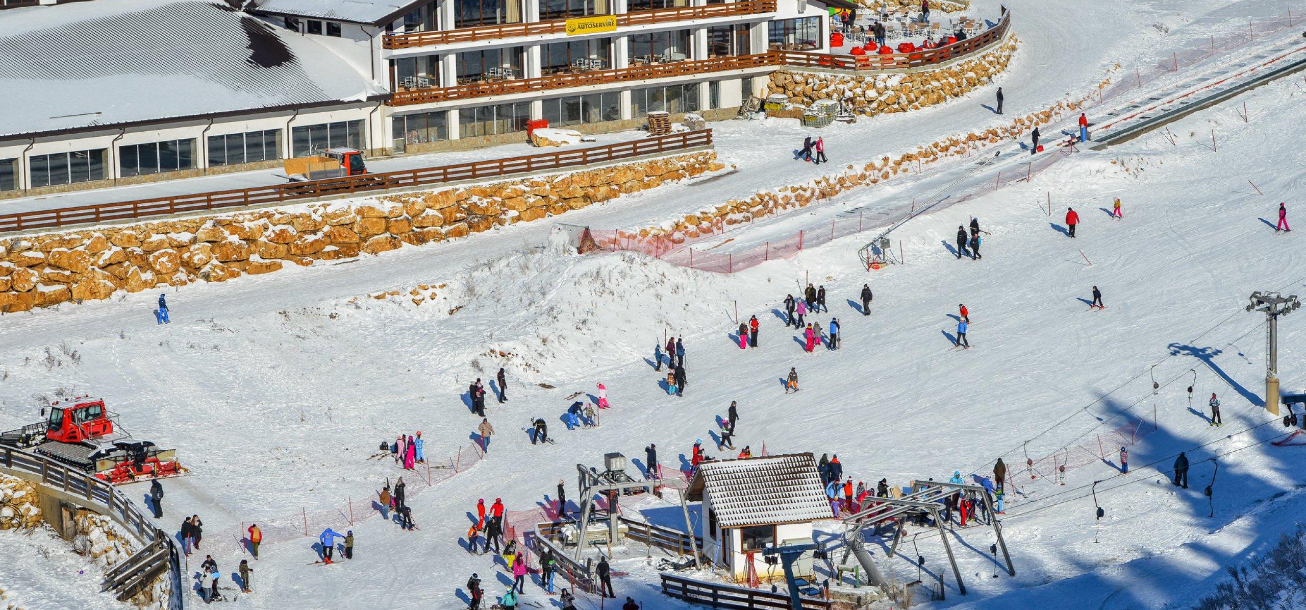 Pârtia de schi Cheile Grădiștei Fundata